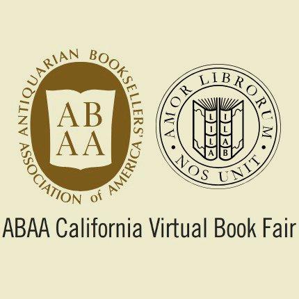 ABAA California Virtual Book Fair